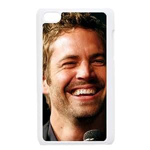 iPod Touch 4 Case White Diy Paul Walker as a gift E4512591