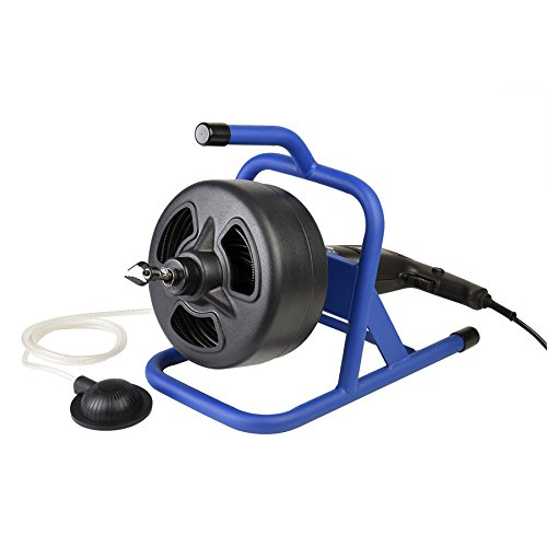 Cobra Pro 50-ft Music Wire Machine Auger Drain ()