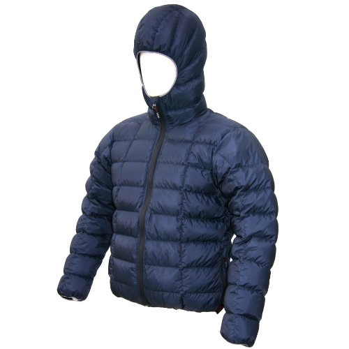 (Western Mountaineering Flash XR Down Jacket - Men's Navy, M)