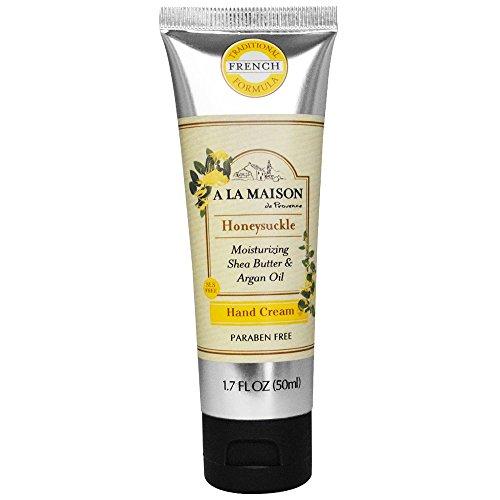A La Maison Hand Cream, Honeysuckle, 1.7 Fluid Ounce