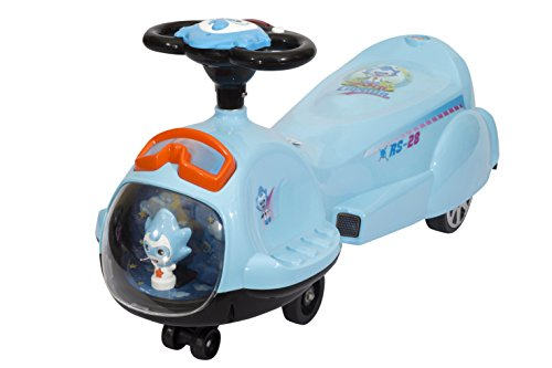 Toyhouse Spaceship Swing Car Blue