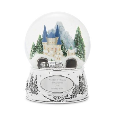Things Remembered Personalized Winter Wonderland Express Musical Snow Globe with Engraving Included]()