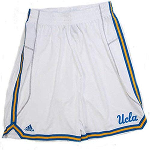 UCLA Bruins Adidas Youth White Basketball Shorts (Small)