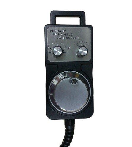 GOWE 4 Axis CNC Electronic Handwheel encoder pendant handheld Encoder MPG Controller manual pulse generator color:5v 25ppr 0