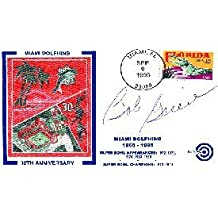 Bob Greene Autographed / Signed 1996 First Day Cover Letter Football Cache