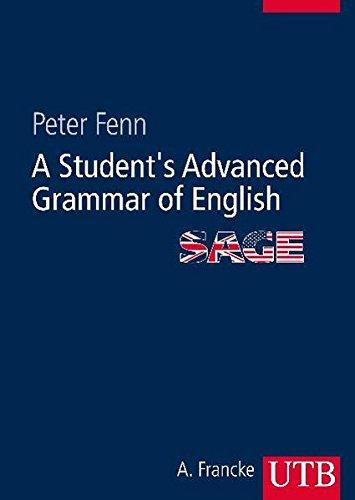 A Student's Advanced Grammar Of English  SAGE