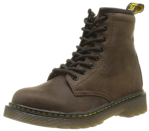 (Dr. Martens Delaney Boot,Dark Brown,2 UK(3 M US Little)