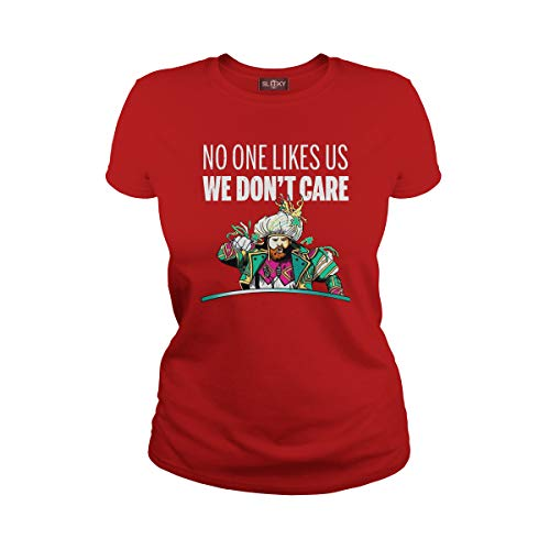 Women's Kelce No One Likes Us We Dont Care (XL, Red)