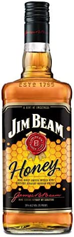 Whisky Jim Bean Honey, 1L