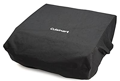 Cuisinart Gourmet Two Burner Gas Griddle Cover and Tote, Black