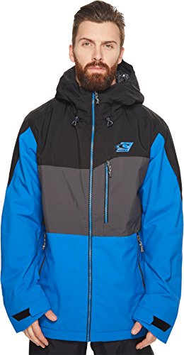 O'Neill Mens Exile Jacket Victoria Blue LG One Size by O'Neill