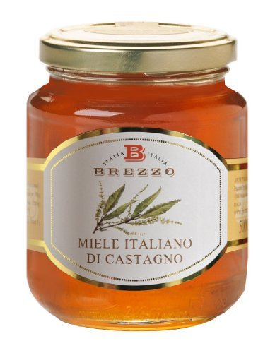 Italian Chestnut Honey a Natural Sweetener and Perfect for Chesees 500g/17.6 oz