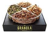 GRANOLA BAKERY Fathers Day Gourmet Nut Blend Gift Box | Keto, Gluten Free, Grain Free, Vegan, Diabetic Diet Friendly...