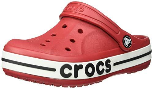 (Crocs Kids Bayaband Clog, Pepper, 10 M US Toddler)