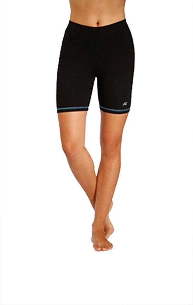 In Touch Absolute Slim-Shape 5 Organic Cotton Hot Shorts with Neon Trim