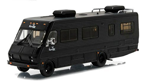 (1986 Fleetwood Bounder RV Black Bandit Collection Hobby Exclusive 1/64 by Greenlight 29845 by Fleetwood)