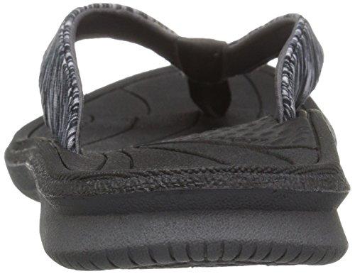 Us Sandalo Nero Cush Donna Heathered Infradito Da 9 B nqOq18vzxw