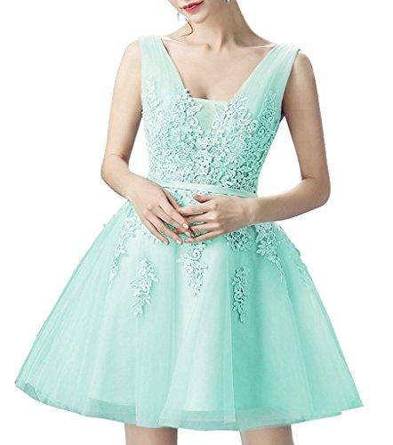 Ysmo - Vestido - Noche - para mujer verde menta