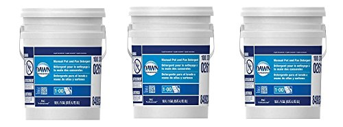 Dawn Professional Pot and Pan Detergent, Regular Scent, 5 Gallons (3-(5 Gallons))