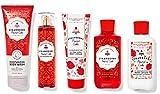 Bath & Body Works Skin Care Bundle Strawberry Pound