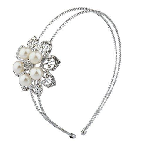 Lux Accessories Bridesmaid Stretch Headband