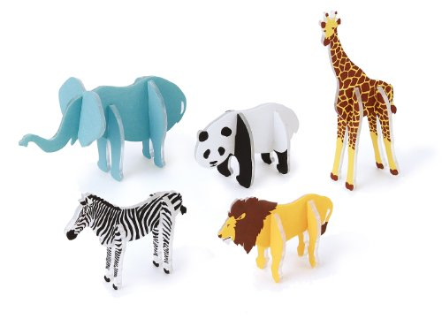 Plature Plastic Handicraft Kit (Animal) by EYEUP