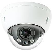 Dahua OEM 8MP IR IP Network Dome Camera, H.265+, 2.7-12mm Motorized Lens, 164 IR Night Vision IP67 IK10 PoE