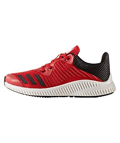 adidas Fortarun K, Chaussures de Fitness Mixte enfant Multicolore - rouge écarlate/noir/blanc (Escarl/negbas/ftwbla)