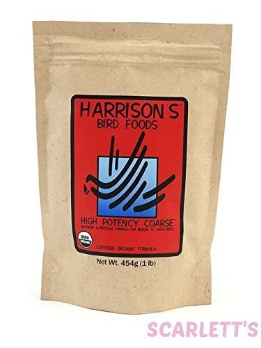 Harrison's Bird Foods High Potency Coarse 25lb ()