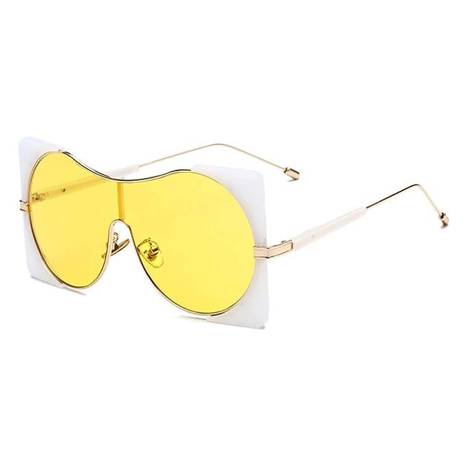 WEIMEITE Mujeres Hombres Gótico Gafas de Sol Cuadradas Gafas ...