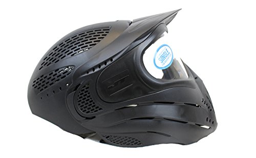 Jt Spectra Strap Goggle (JT Premise Headshield Paintball Goggle Mask - Black - New)