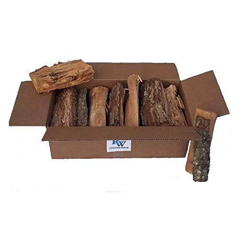 Rock Wood Cooking Wood Logs - USDA Certified Kiln Dried (Pecan, 25-30 lbs) by Rockwood (Image #2)