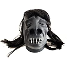 "Loftus International Loftus Halloween Voodoo Shrunken Head 4.5"" Decoration Prop, Black Novelty Item"