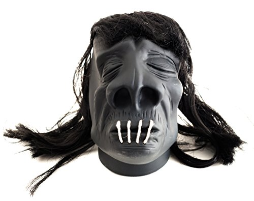 Voodoo Decorations Halloween (Loftus International Loftus Halloween Voodoo Shrunken Head 4.5