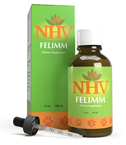 NHV Felimm - Natural Herbal Support That Helps Pets With Feline Leukemia Virus (FeLV), FIP, FIV and Canine Herpes Virus