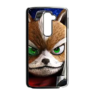 LG G2 Cell Phone Case Black star fox zero Jctdn