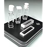 Alpha Nanotech Chemical-Resistant UV Quartz Cuvettes (10 mm Light Path, 2 Optical Sides)