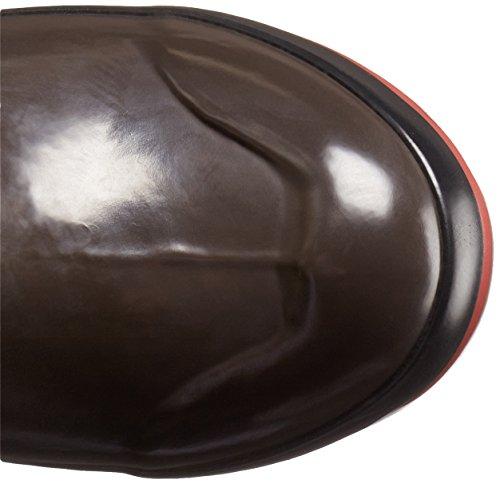 Bogs Womens Plimsoll Prince De Galles Grand Hiver Bottes De Neige Chocolat