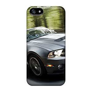 Iphone 5/5s DHK10487eWEr Provide Private Custom Nice Ford Mustang Pattern Protective Hard Cell-phone Cases -IanJoeyPatricia