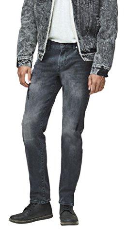Aeropostale Men's Skinny Wash Reflex Jean 28 Black (Aeropostale Skinny Jeans)
