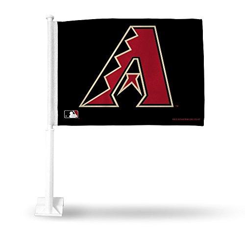 Rico MLB Diamondbacks Secondary Design Car Flag, 8 x 1, Logo Color