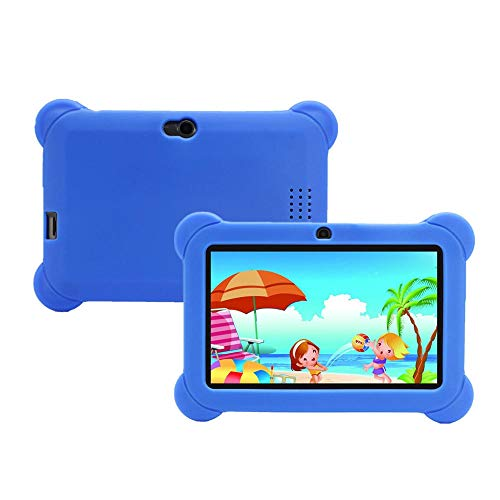 512MB+8GB Allwinner A33 Quad Core 7 Inch Android 4.4 Kids Tablet - Tablet PC Android Tablet - (Dark Blue) - 1x 8P Double Row Female Straight Header Strip