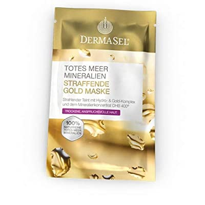 2 Pack Dermasel Mask Gold Exclusive 12 ml - Treatments & Masks -Improves Skin Firmness & Reduces Wrinkles - Skin & Personal Care - Germany