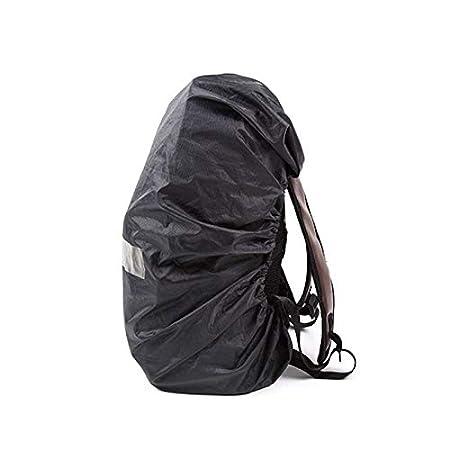 Negro Cubierta de Lluvia de mochilaWaterproof Rain Cover for Zaini Fundas Impermeabile para Mochila para Camping Senderismo etc Daliuing Fundas para Mochilas
