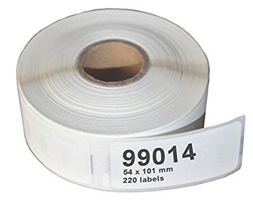 Ruban Compatible Dymo 99014 Blanc - 101 X 54 MM (220 Etiquettes)