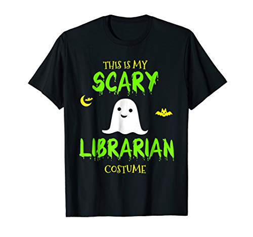 This Is My Scary Librarian Costume Halloween T-Shirt for $<!--$18.91-->