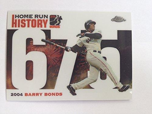 2006 Topps Chrome Home Run History BBC675 Barry Bonds NM/M (Near Mint/Mint)