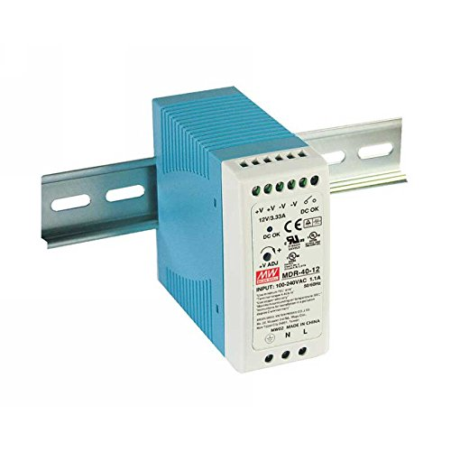 Mean MDR 40 24 Power Supply DIN Rail