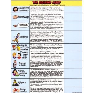 The Blessing Chart by Pam Foster (1997-05-04)