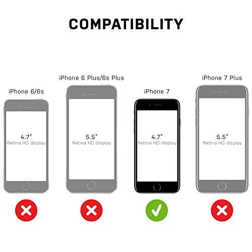 OtterBox SYMMETRY CLEAR SERIES Case for iPhone 8/7 (ONLY) - Retail Packaging - CLEAR (CLEAR/CLEAR) by OtterBox (Image #7)